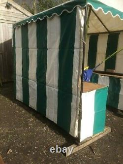 CORBY CANVAS GAZEBO Heavy Duty Structure ideal for Market Stall, Storage and BBQ