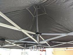 Canopro Elite Heavy Duty Gazebo 3m x 3m Market Stall Pop Up Gazebo Aluminium