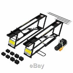 Car Jack Portable Lift Garage Hydraulic Automatic Workshop Heavy Duty One Handed