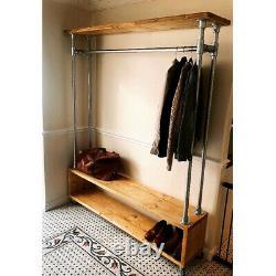 Custom Made Clothes Rail Wardrobe