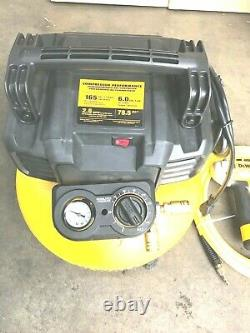DEWALT DWFP1KIT 6G 18Gauge Brad Nailer and Heavy-Duty Pancake Air Compressor N