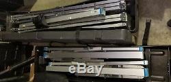 Da-Lite Fast-Fold 12x17FT Mat White screen Excellent Condition Heavy Duty Frame