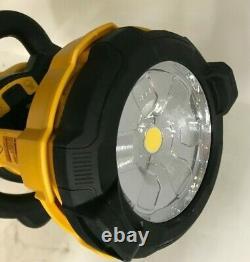 DeWALT DCL079B 20-Volt MAX Heavy Duty Cordless LED Tripod Light, GR