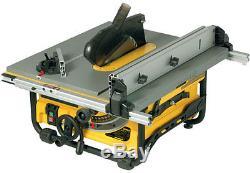 DeWALT DW745 1700W 240V 10 254mm Heavy Duty Compact Portable Table Rip Saw RW