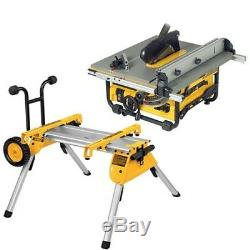 DeWalt DW745RS 240V Portable Heavy Duty Table Saw With DE7400 Stand