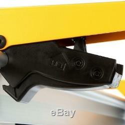 Dewalt Portable Folding Miter Saw Power Tool Shop Work Stand Station Heavy Duty