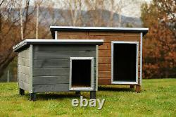 Doghealth Heavy Duty Dog Run Cabin five sizes Quality made in Poland
