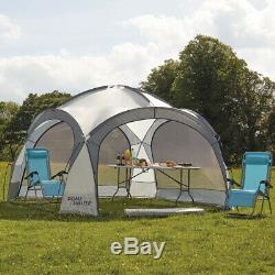 Dome Event Shelter Waterproof Gazebo UV Protection 3.5m x 3.5m Tent & Side Walls