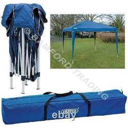 Draper Folding Pop Up Waterproof Garden Gazebo Portable with Storage Bag 3M x 3M