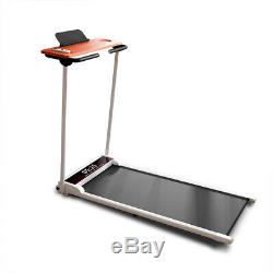 Electric Treadmill Running Machine Motorized Foldable Portable with Pad Holder