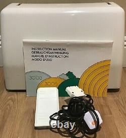 Elna 3007 (Janome) Heavy Duty Sewing Machine Pre-Owned Serviced Warranty U