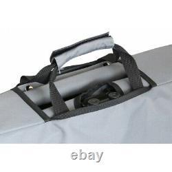 Eurotrail Portable Foldable Wagon Trolley Cart Pull Along Beach Garden Camping
