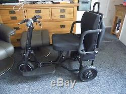 Ex Demo Ezy Fold Maxi 3 Wheel Mobility Scooter Lightweight Strong Portable