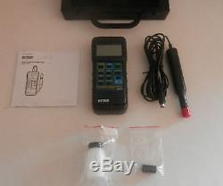 Extech Heavy Duty 417510A portable Dissolved Oxygen meter kit + 3 meter DO probe