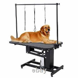 Extra Large Height Professional Hydraulic Dog Grooming Table Heavy Duty Z Lift