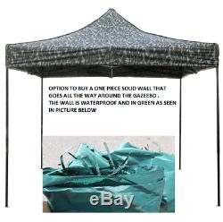 Four Season Gazebos 3x3m Heavy Duty Fully Waterproof Pop up Gazebo market stall