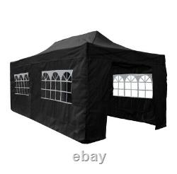 Four Seasons Essential 3x6 Pop Up Gazebo with Sides Heavy Duty Commercial