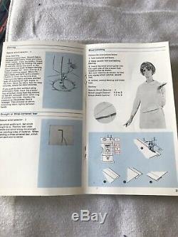 Frister & Rossmann 503 Vintage Heavy Duty Zigzag Sewing Machine & Manual