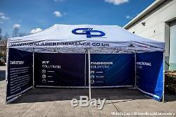 Gala Shade 3x6m Pro-50 Pop-Up Gazebo Race/Pit/Paddock/Hospitality Awning