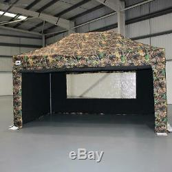 Gala Tent Pop 50mm Leaftree Commercial Gazebo 3 x 4.5 Easy Up Pop Up With Sides