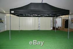 Gala Tent, heavy duty pop up gazebo 3m x 6m Gala Shade Pro MX Gazebo (Black)