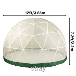 Garden Dome Igloo Conservatory Gazebo Greenhouse Storage Outdoor Shed Portable
