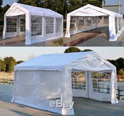 Garden Gazebo Marquee Party Wedding Tent Portable Carport Shelter Car Canopy