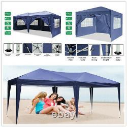 Gazebo 3×6M/3x3M Heavy Duty Marquee Market Party Garden Canopy Pop Up Tent Patio