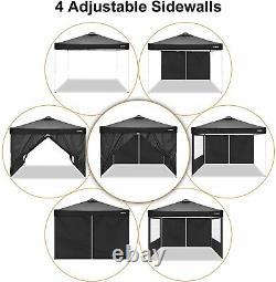 Gazebo 3x3M Heavy Duty Marquee Garden MarketStall Party Patio Tent Pop up Canopy