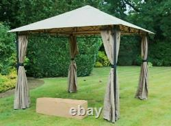 Gazebo Popup Waterproof Marquee Canopy Garden Wedding Party Tent 3M x 3M NO TOOL