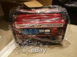 Generator Heavy Duty Petrol Generator RK-9500 WE 6KVA