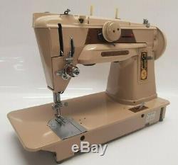 German Singer 401G Slant Needle Heavy Duty Zigzag Multi Stitch Sewing Machine