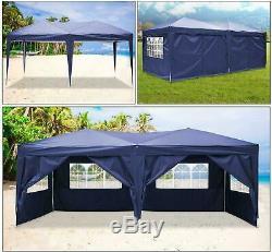 HEAVY DUTY GAZEBO 3x3m/3x6m GAZEBO PARTY MARKET STALL POP UP TENT WATERPTOOF DHL