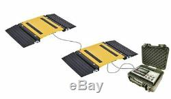 HEAVY DUTY PORTABLE TRUCK AXLE SCALE withRAMPS! TRUCK AXLE WHEEL WEIGHING SCALE