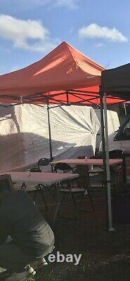 HERCULES COMMERCIAL GRADE MARKET STALL POP UP GAZEBO TENT 3x3m HEAVY DUTY 800d