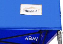 HERCULES GAZEBO COMMERCIAL GRADE MARKET STALL POP UP TENT 3x3m HEAVY DUTY 800d
