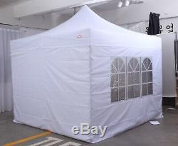 HERCULES GAZEBO COMMERCIAL GRADE POP UP PARTY BBQ AWNING TENT 3x3m HEAVY DUTY