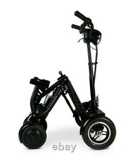 Harley Folding Mobility Scooter 4 Wheel lithium ion battery portable Lightweight