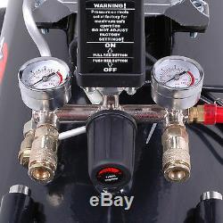 Hawk Tools 100l 3hp 14.6cfm Twin V Engine Heavy Duty Workshop Air Compressor Kit