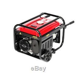 Heavy Duty 4-stroke Petrol Generator Silent 3000W 7HP Power Engine +Handle Wheel