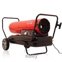 Heavy Duty 51kw Portable Diesel Kerosene Paraffin Warehouse Space Fire Heater