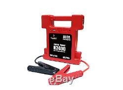 Heavy Duty Battery Jump Starter Super Compact 26000mAh 12/24V switchable withLamp