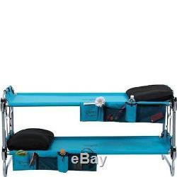 Heavy Duty Bunk Beds Kids Twin Bunkbeds Portable Camping Sleep Single Carry Bag