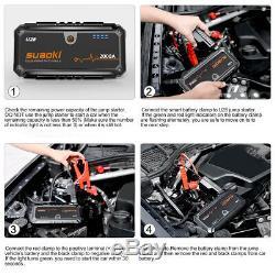 Heavy Duty Car Jump Starter 12V Booster Battery Charger Power Bank 2000Amp Peak