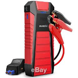 Heavy Duty Car Jump Starter Booster Battery Charger Power Bank 25000mAh 2500Amp