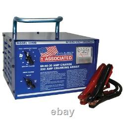 Heavy Duty Commerical Portable Battery Charger, 6/12/24 Volt ASO6010B Brand New