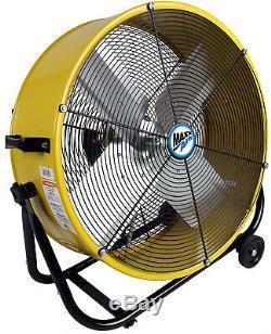 Heavy Duty Fan 24 Outdoor Industrial Floor Large Indoor High Velocity Portable