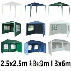 Heavy Duty Garden Pop Up Gazebo Marquee Party Tent Wedding Canopy Waterproof UK