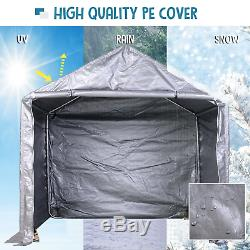 Heavy Duty Gazebo 2x2m Waterproof Garden Bike Mower Carport Tool Storage Tent