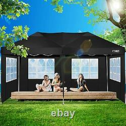 Heavy Duty Gazebo 3x6M Marquee Wedding Party Pop Up Tent Waterproof withSides NEW